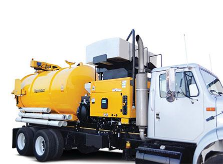 McLaughlin 1200 Gallon Hydro Vac Excavator